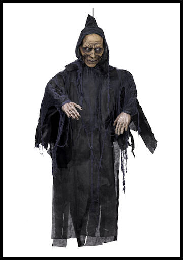 5 ft rotten zombie hanging prop by Halloween Costumes at LinkShare