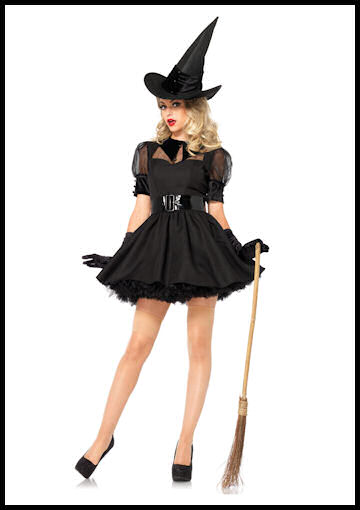 adult witch costume by Halloween Costumes at Link Share