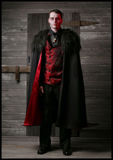 Adult Deluxe Mens Vampire Costume by Halloween Costumes at LinkShare