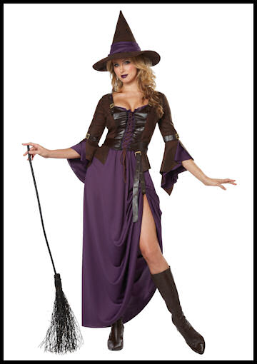 Adult Salem Witch Costume by Halloween Costumes at LinkShare
