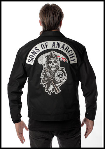 Adult Sons of Anarchy Jacket by Halloween Costumes at Link Share