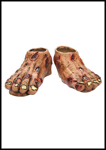 Adult Zombie Feet by Halloween Costumes at LinkShare
