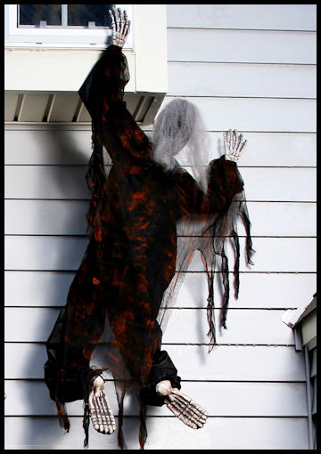 Black Climbing Dead House Decoration by Halloween Costumes at LinkShare