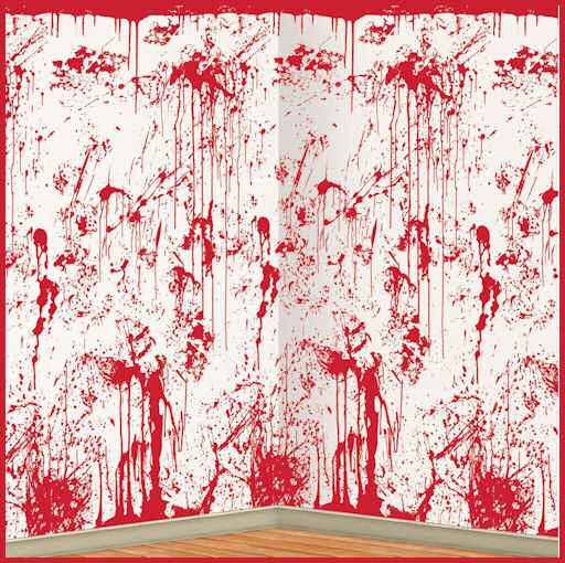 Bloody Wall Halloween Decoration for Dexter Party by Halloween Costumes at LinkShare