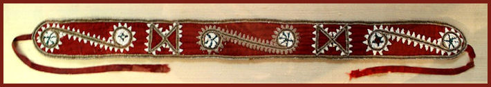 Choctaw Beaded Sash by Public Domain and Wikimedia Commons