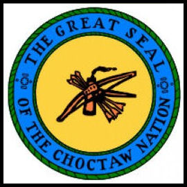 Choctaw great seal - wikimedia commons