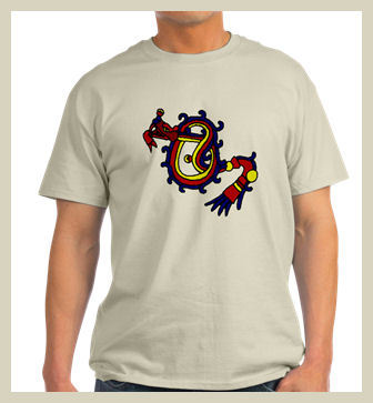 Aztec Feathered Serpent T-Shirt