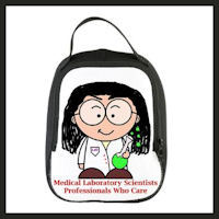 medical technologist lunch bag