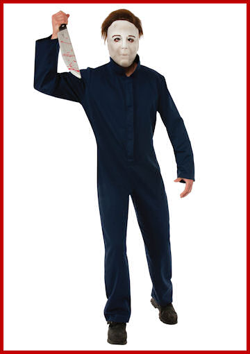 Michael Myers Serial Killer Costume by Halloween Costumes at LinkShare