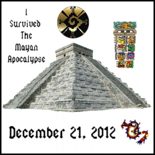 I survived the Mayan Apocalypse by L.A. Cargill