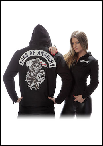 Plus Size Sons of Anarchy Jacket by Halloween Costumes at LinkShare