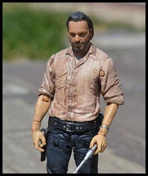Rick Grimes from the Walking Dead TV Zombie show from Pixabay