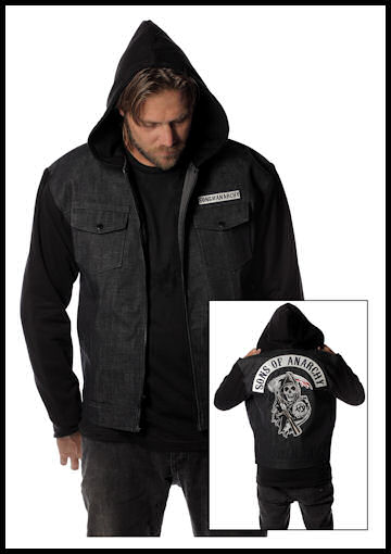 Sons of Anarchy Denim Jacket by Halloween Costumes at LinkShare