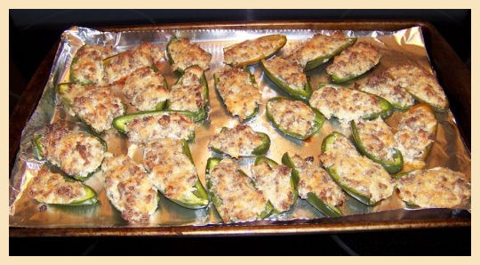 Stuffec Sausage Peppers