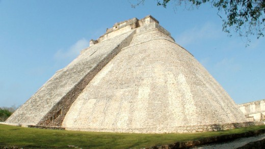 Pyramid of Uxmal from morgueFiles free photo license